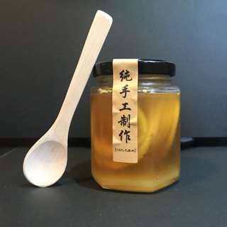 自家製 蜂蜜漬檸檬 🍋 180ml  純天然 無添加防腐劑!