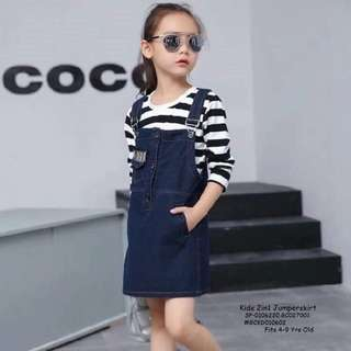 Kids 2in1 jumpsuit fits 4-9 yrs old