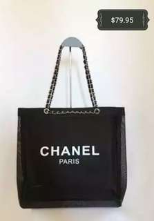 Chanel VIP Mesh Tote Bag