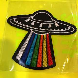 UFO 🛸 iron on patches
