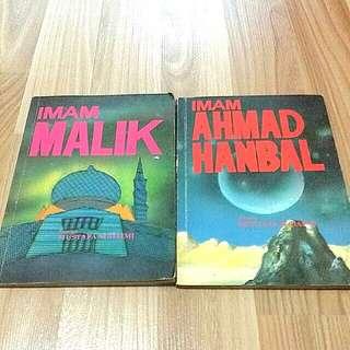 Buku Imam Malik/Imam Ahmad Hanbal