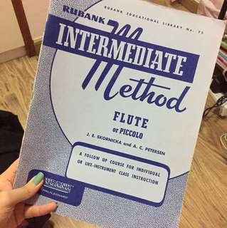 Intermediate method - flute or piccolo