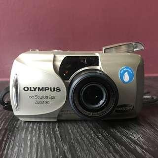 Olympus Stylus Epic Zoom 80 film camera
