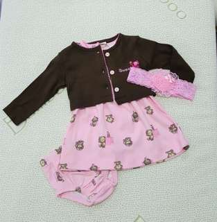 Baby 3pcs set dress