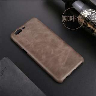 One plus 5 leather phone case