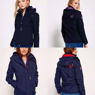 Superdry女裝厚款Windcheater Size XS-XL