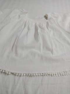 HQ white off shoulder with embroidery