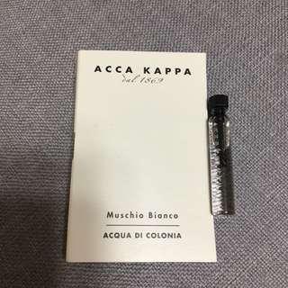 [包郵] Acca Kappa perfume sample