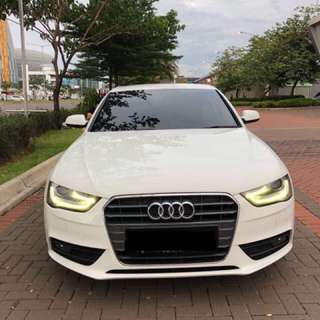 Audi A4 2014 putih matic