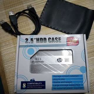2.5 Inch 500Gb HDD casing Included