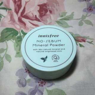 [W/ FREEBIE] Innisfree NO SEBUM Mineral Powder, 5g