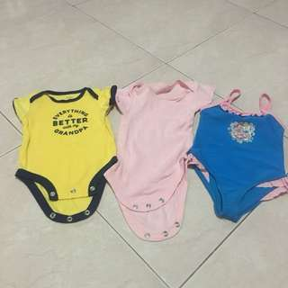 Baby romper and swimming suit