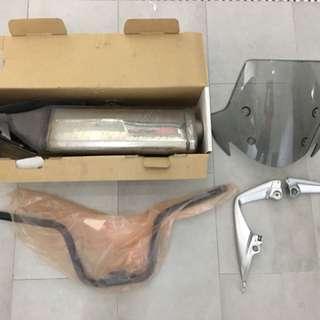 2013 Crossrunner Original Honda Items