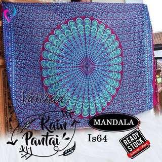 Mandala tapestry penghias kamar new