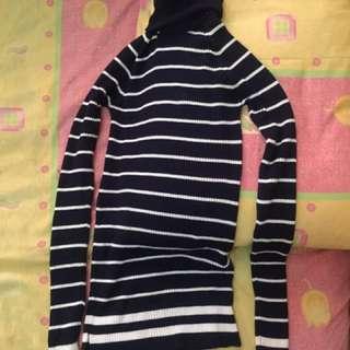 Zara knit stripe top