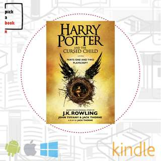 Harry Potter and The Cured Child E-book