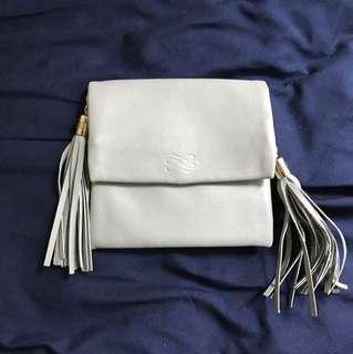 Lancel Grey Leather Wallet
