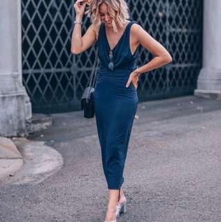 Homage Femme multiway navy dress