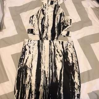 AVA CUT OUT DRESS