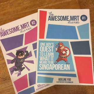 The Awesome MRT Diaries by Adeline Foo