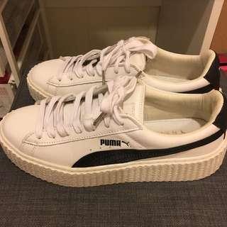 ❤️便宜賣💜 Rihanna x PUMA Fenty Creeper White Black