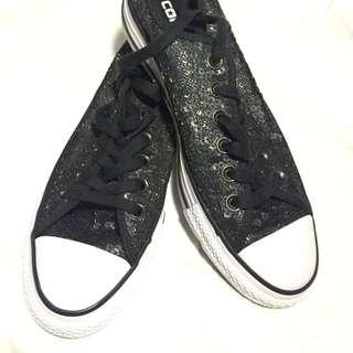 Converse Chuck Taylor All Star Black White Gold