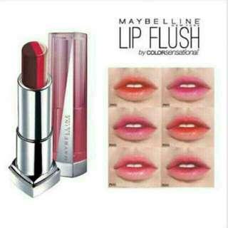 Maybelline lip flush bitten lip