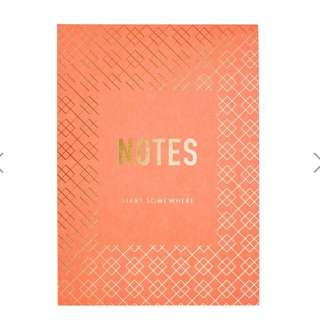 Kikki.k B6 Printed Notepad Inspiration Multi