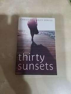 Thirty Sunsets Christine Hurley Deriso