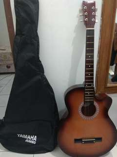 Gitar Yamaha Kw + cover gitar
