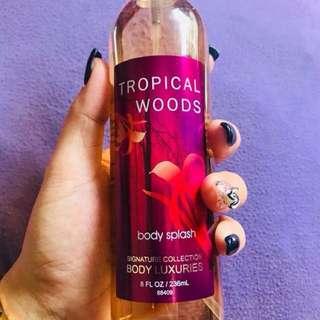 Tropical Woods - Body Luxeries Body Splash