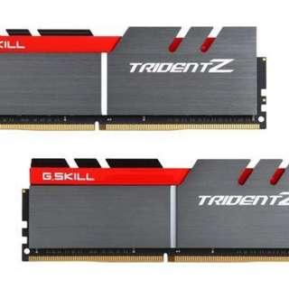 G.Skill TridentZ ddr4 32gb 3200 Cl14 kit