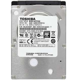 "Toshiba MQ01ACF032 320 GB 2.5"" Laptop Hard Drive 7mm HDD (3 LEFT)"