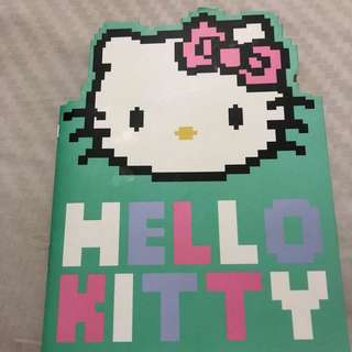 Hello Kitty notebook (typo)