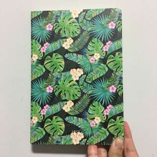 A5 Tropical notebook