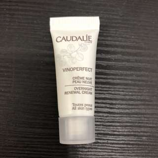 Caudalie vinoperfect overnight renewal cream 3ml
