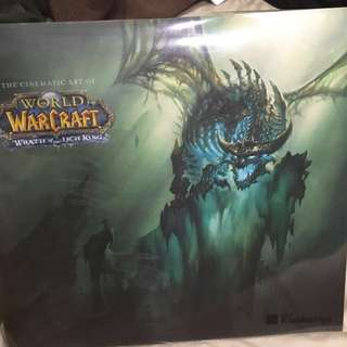 Rare World of Warcraft Wrath of the Lich King cinematic art book