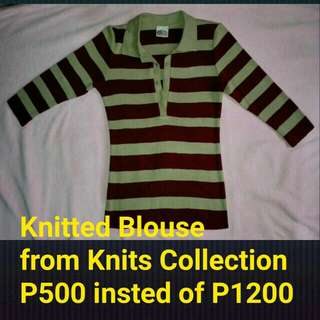 Knitted Top from Knits Collection P500 only instead of P1200