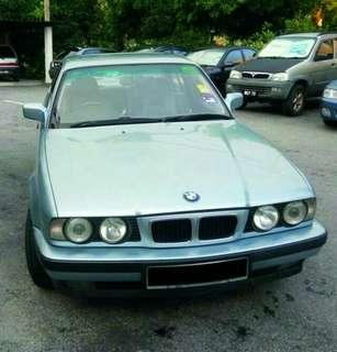 BMWBMW 520I SE 2.5CC TAHUN 1989 REG 1994 CONDITION 👌👍 RM10800 BODY NEGO SMPI JADI👍 AREA KL