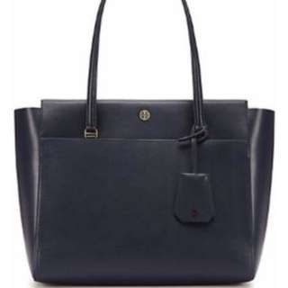 Tory Burch navy Samba