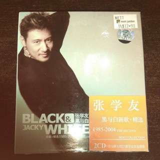 Music CD  Jacky Cheung Black and White 张学友 黑与白新歌 精选