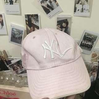 🚚 NY粉色帽