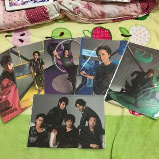 🚚 ARASHI 5*10演唱會資料夾