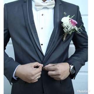 Dark Gray Suit Onesimus