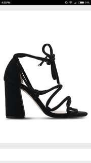Zalora Strappy Lace Up Heels