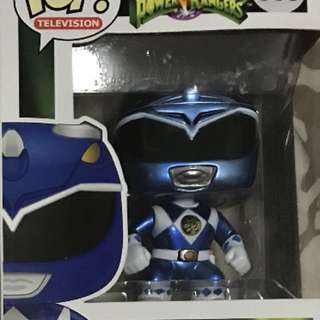 Blue Ranger Metallic Funko Pop