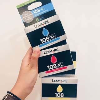 Lexmark 180(XL) Original Printer Ink Cartridges