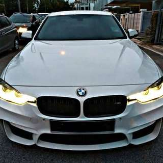 SAMBUNG BAYAR  BMW F30 320i TWIN TURBO TAHUN 2016 BULANAN RM 2600 BAKI 6 TAHUN 4 BULAN ROADTAX MAC 2018 EXHAUST VALVE ON/OFF M3 BODYKIT TIPTOP CONDITION  DP KLIK wasap.my/60133524312/f30