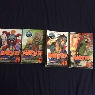 Naruto books for sale