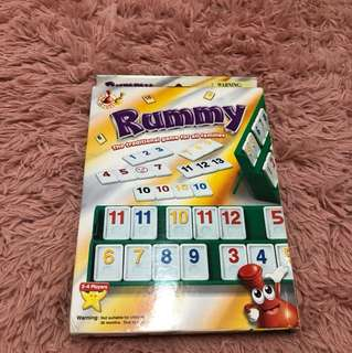 Rummy numbers game